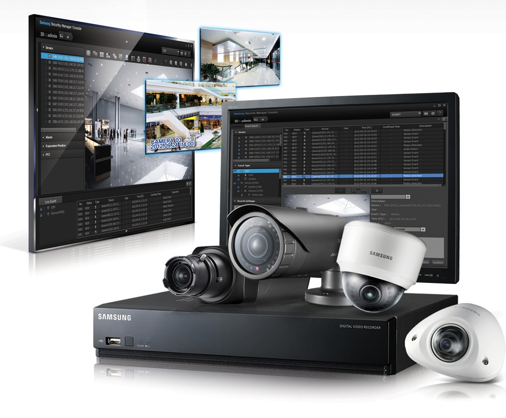 Samsung techwin e ipronet unen tecnolog as para el - Sistemas de videovigilancia ...