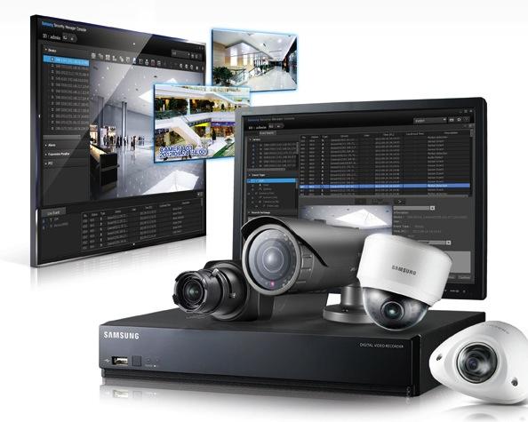 Gama IP de Samsung Techwin