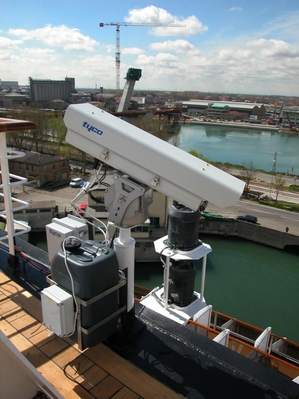 Tyco en el nuevo buque de Fincantieri