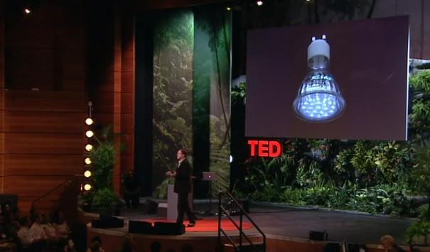 Comunicación por luz visible (VLC)