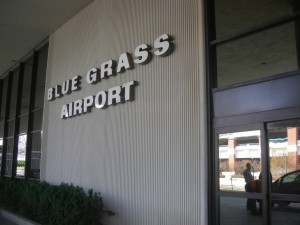 Grass Airport Blue