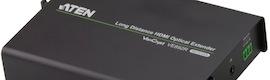 Extensores de vídeo HDMI y 3D con fibra óptica para grandes distancias de Aten Internacional