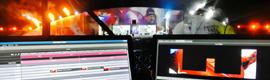 Los procesadores de vídeo de la española ShowKube protagonizan la ceremonia de la regata Vendée Globe