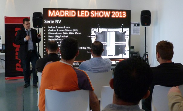 Earpro LED Show Madrid