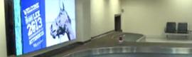 Hammond implanta pantallas de vídeo wall en el aeropuerto de Blue Grass