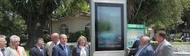 Marbella apuesta por el digital signage con cincuenta paneles interactivos con información turística y multilingüe
