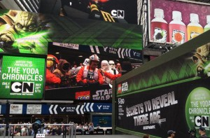 Lego Star Wars en Times Square