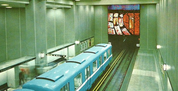 Montreal (Canada) Estacion de metro