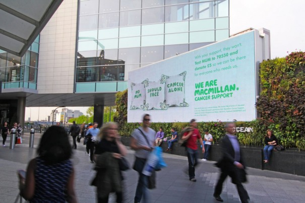 Ocean Outdoor Westfield Macmillan cancer