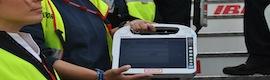 Digitalización y movilidad marcan el diferencial mundial de la T4 de Barajas con tecnología Panasonic Toughbook