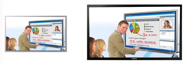 Panasonic display gran formato