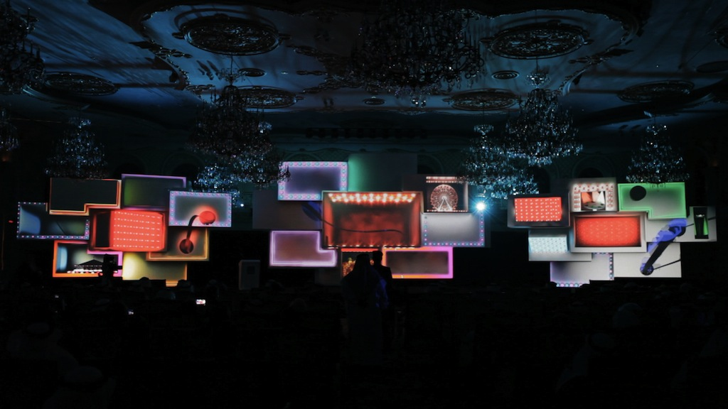 Spectacular Interior 3d Video Mapping To Promote The New
