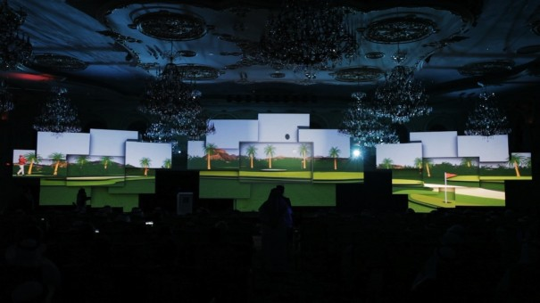 Projection Advertising Arabia Saudi