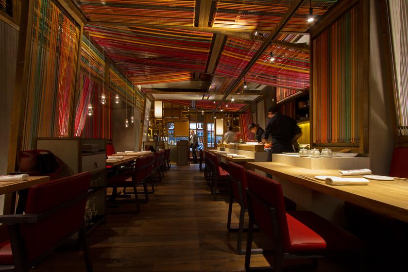 Las luminarias led se integran con el dise o en el Disenos de interiores para restaurantes