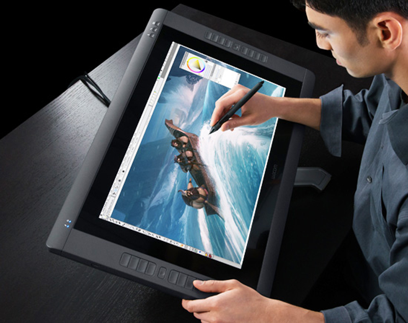 Wacom Cintiq 22hd Touch Intuitive Rotary Touch Screen