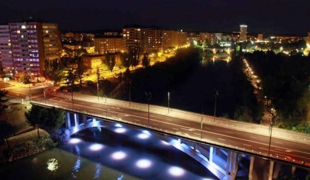 Valladolid iluminacion de la ciudad