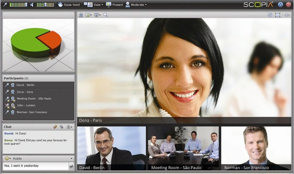 Avaya Video Collaboration Solution para pymes