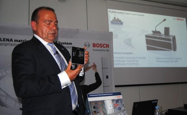 Presentación de Bosch PLENA Matrix