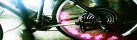 Proyección sostenible con sistemas Casio a golpe de pedales en colaboración con CiclaLab
