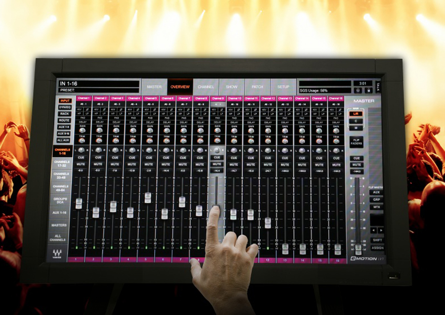 Crest Audio and Waves design Tactus, an innovative digital