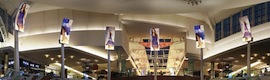 Daktronics creates an immersive entertainment experience with curved LED screens in The Mall at Millenia Orlando