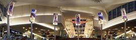 Daktronics crea una experiencia inmersiva de ocio con pantallas curvas Led en The Mall at Millenia de Orlando