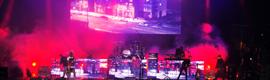 dbn proporciona la iluminación y los efectos visuales al Festival Parklife 2013 en Manchester