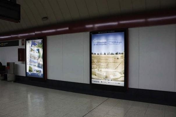 JCDecaux Metro Cartagena