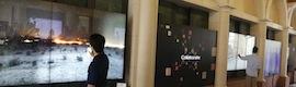 MultiTouch instala la pantalla interactiva táctil más grande que existe en una universidad norteamericana
