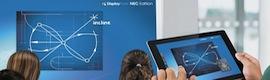 NEC Display Solutions y DisplayNote amplían su alianza tecnológica a nivel mundial para educación y empresas