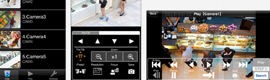 Panasonic Security Viewer provides remote security from mobile