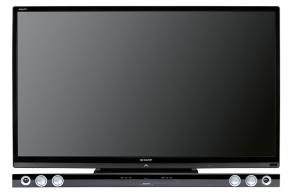 Sharp HT-SB60 en TV 60