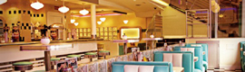Los sistemas Mask 6 de Apart crean el sonido ambiente del restaurante Tommy Mel´s en León