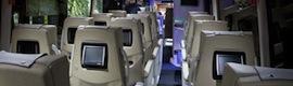 Pantallas táctiles multimedia con Android en las butacas de los 'autobuses tecnológicos' de Alsa