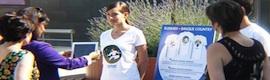 Realidad aumentada en camisetas para promocionar la marca turística 'Basque Country'