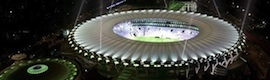 Lo stadio che Maracanã si prepara con illuminazione Led di GE Lighting a brillare in Coppa del mondo di calcio del 2014