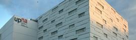 Fibernet aporta comunicaciones ópticas a los CPDs de la Universidad Pública de Navarra