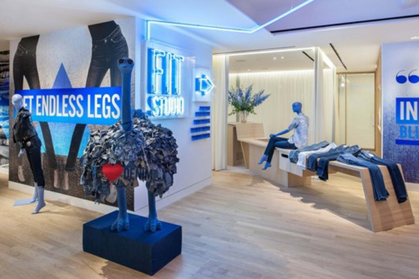 Inauguracion Denim Studio en Selfridges