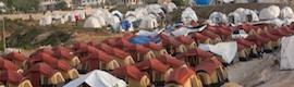 Basylis: primer sistema de seguridad perimetral transportable para centros de refugiados de Indra