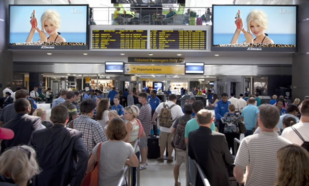 JCDecaux en el aeropuerto JFK