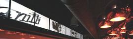 Una instalación panorámica y la tecnología de Matrox dotan de un ambiente modernista al club Vanilli