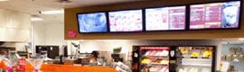 Dunkin Donuts utiliza la señalización digital para lanzar su nueva imagen de marca