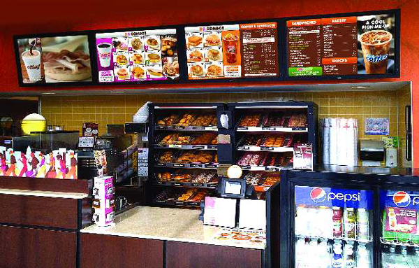 NCR Vitalcast Dunkin Donuts
