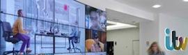 La cadena inglesa ITV aborda su transformación tecnológica con las soluciones audiovisuales de NEC Display