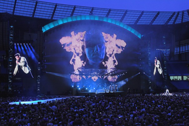 XL Video colabora gira Robbie Williams 2013