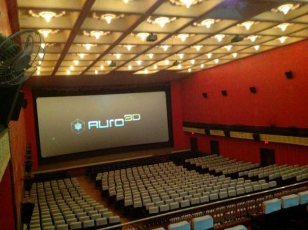 Auro 11.1 en Manasa Theatre