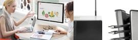 La tecnología de colaboración Barco ClickShare se integrará en el mobiliario de oficina de Herman Miller
