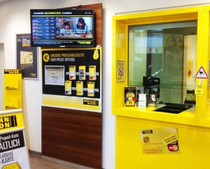 BrightSign en Western Union
