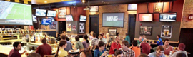 Buffalo Wild Wings WRT deploys digital signage solution in 50 of its main facilities