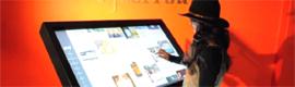 """CyberTouch Mono Mobile, mesa multitouch de hasta 65"""" para aplicaciones indoor en grandes salas"""